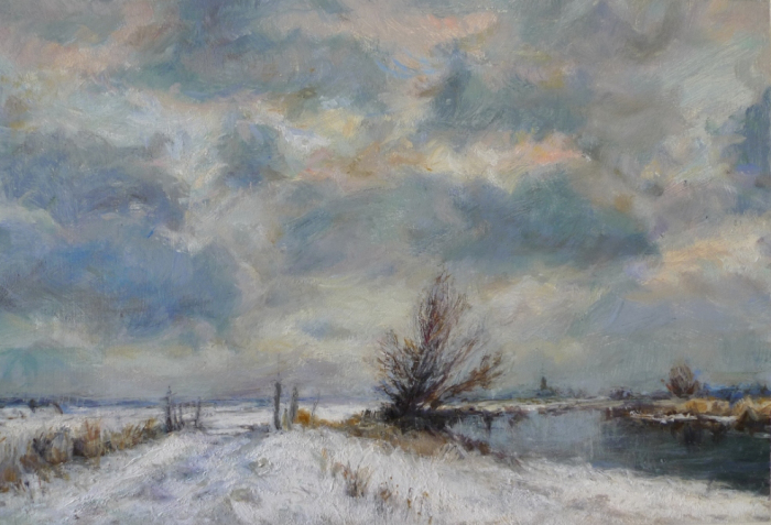 Sarah Spencer - Snow at Oare