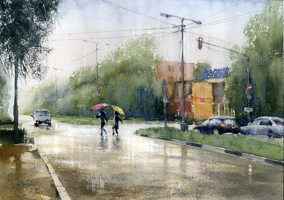 Vladimir Tuporshin - The Rain in Puschino