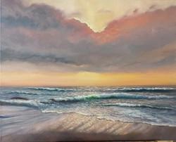 Ina Millman - Sunrise Seascape