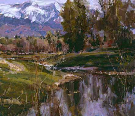 Howard Friedland - Springtime in the Rockies