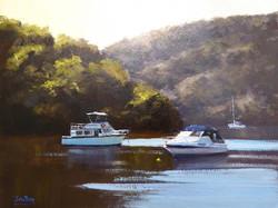 John Rice - Boats on the Hawkesbury