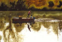 John Hulsey - Fishing at the Intake