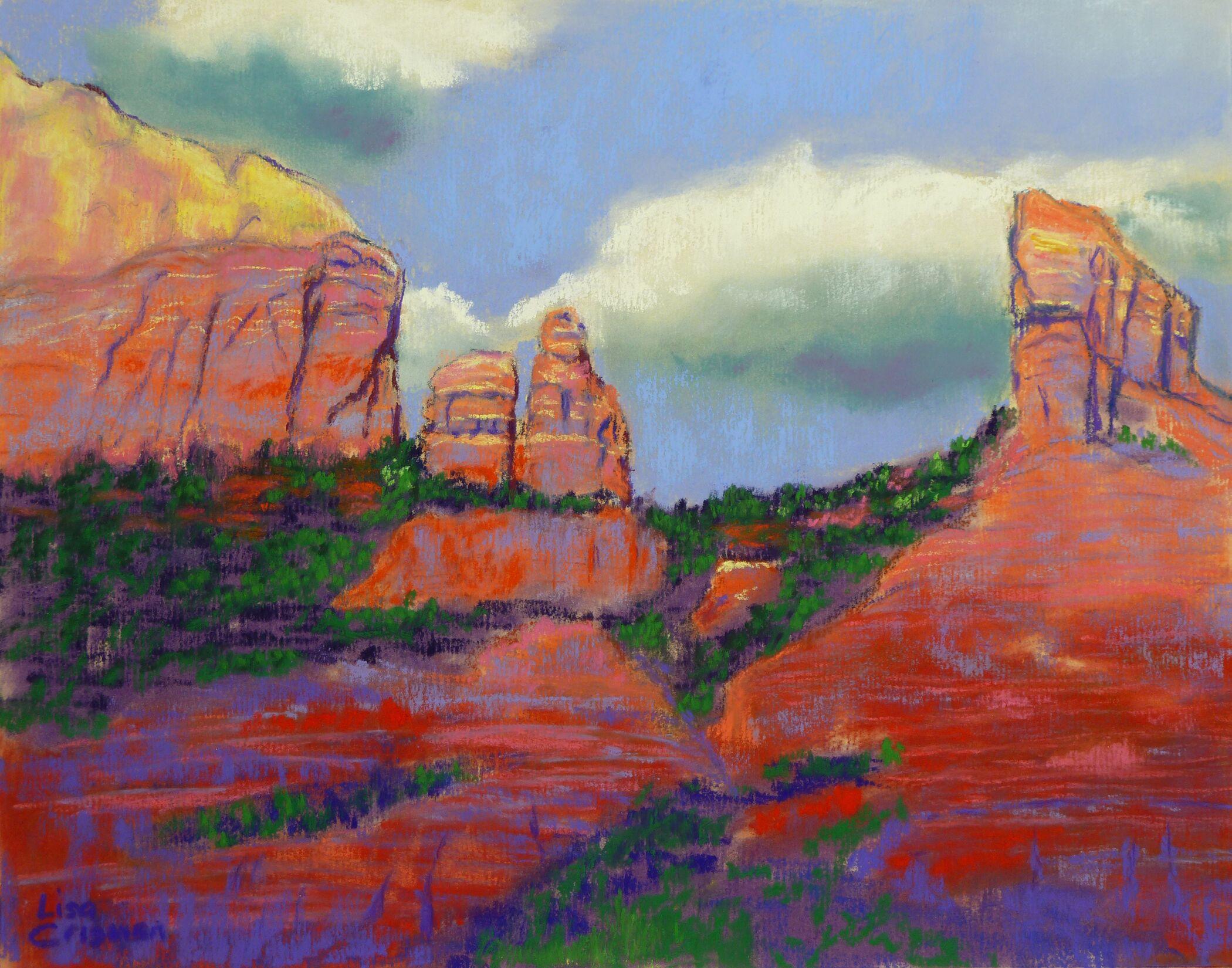 Lisa Crisman - Red Rocks