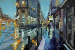 Desmond O'Hagan - The 9th at Dusk, Paris