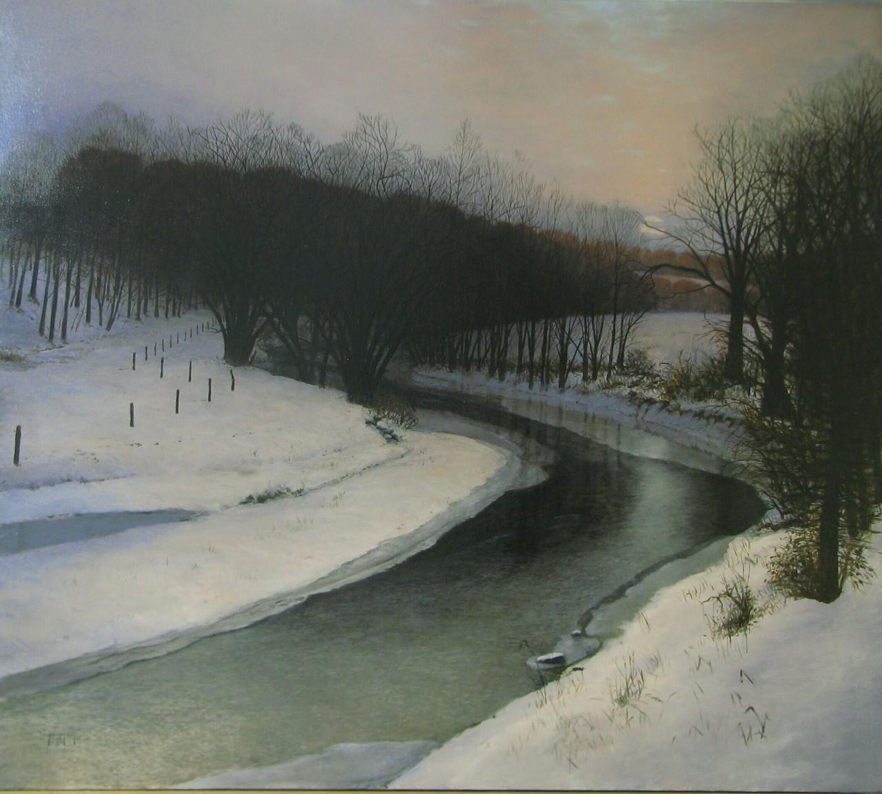 Paul W. Flury - Blue Moon No. 2