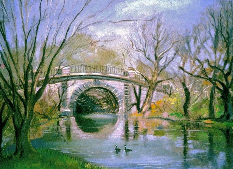 Carmen Corrigan - Botanical Gardens Twin Lakes Pond