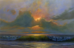John Nichols - Ocean Sunset