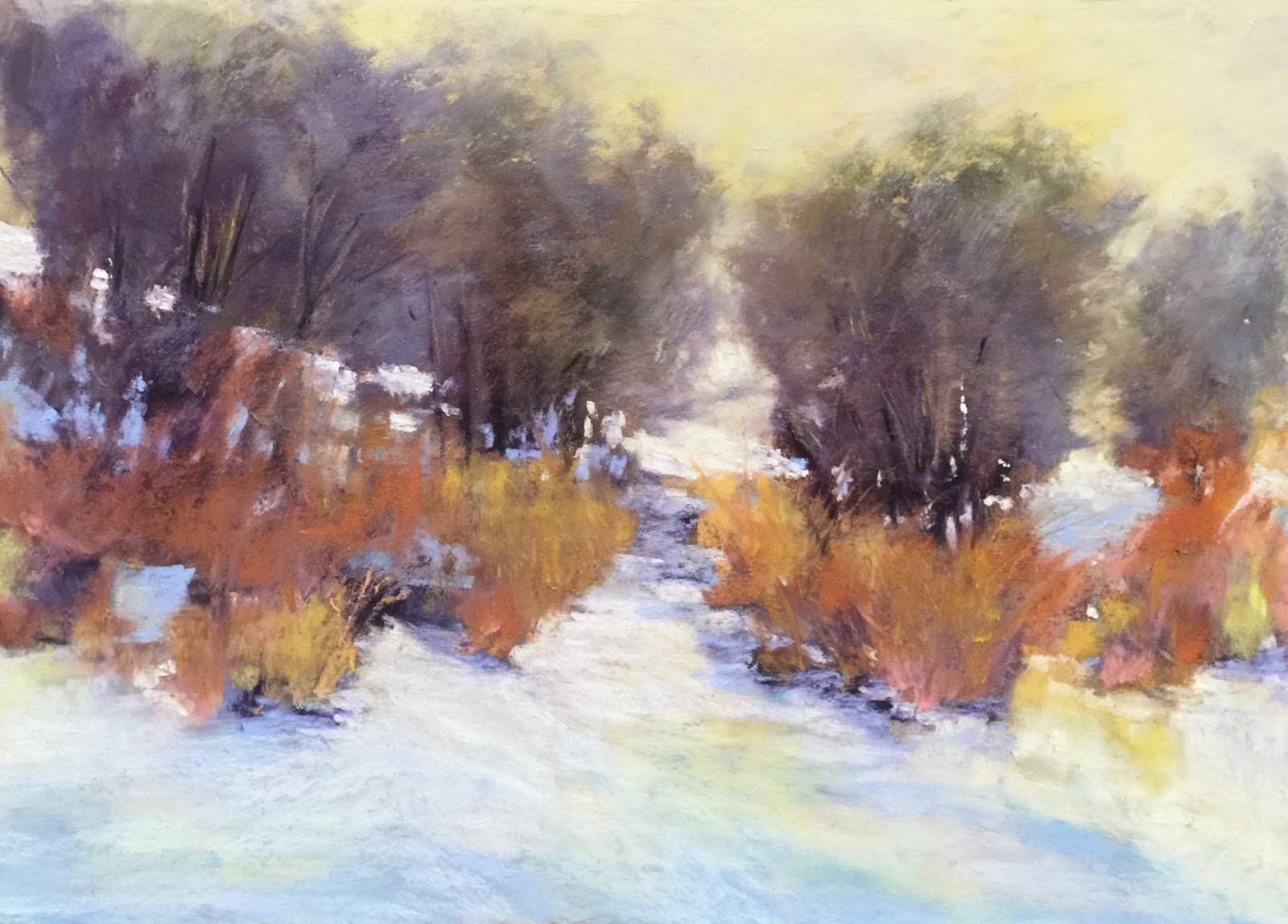 Donna Theresa - Winter landscape study