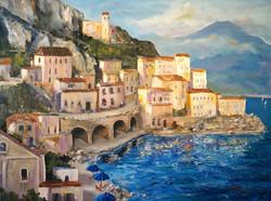 Alan Lakin - Amalfi Coast Highway