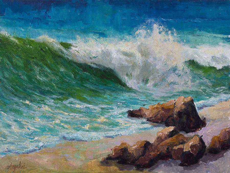 Nancy Angelini Crawford - Ride the Wave