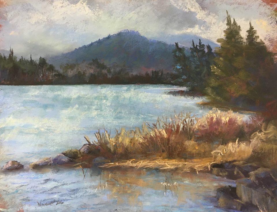 Susan Whiteman - Franklin Falls Pond, Early Spring