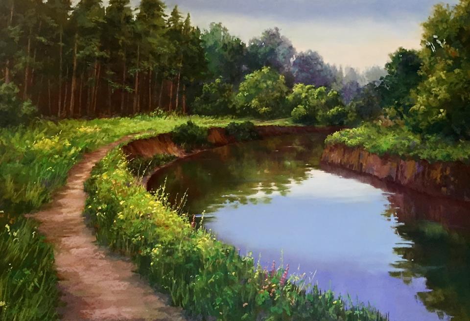 Candi Ferguson - Evening Reflections