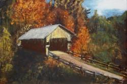 Jimm Ross - Covered Bridge, Fall