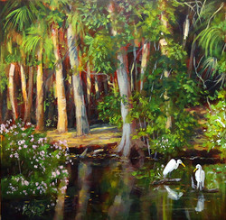 Sharon Repple - Evening at the Springs