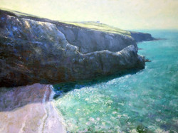 Andrew Barrowman - Cliffs near Porthleven