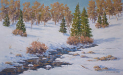 Igor Staritsin - Winter Pine Trees