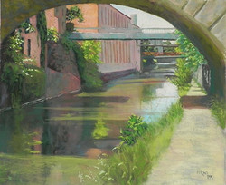 Jean Hirons - Georgetown Canal in Summer