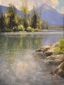 Stacey Peterson - Taggart Lake Reflections