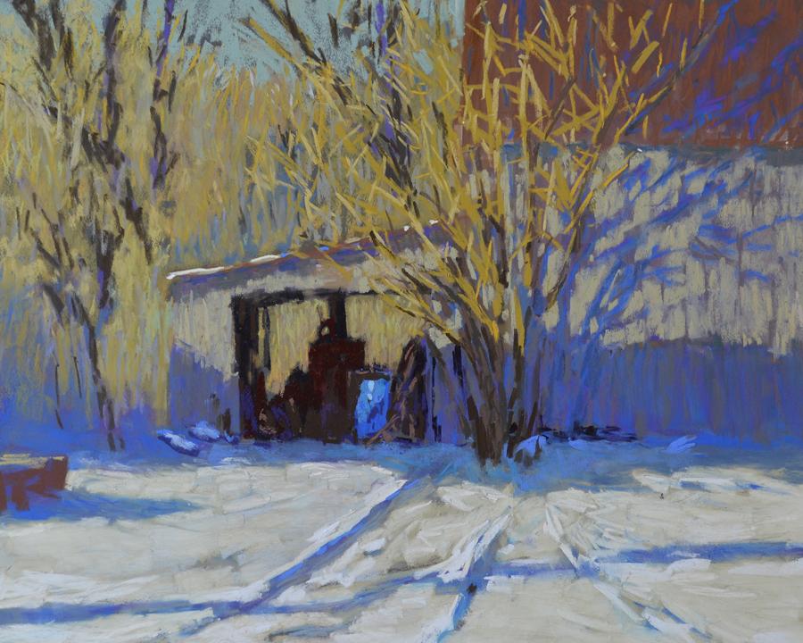 Carol Strock Wasson - Winter Blues
