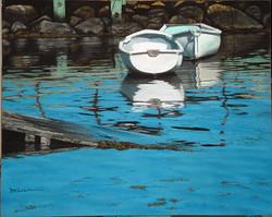 Marlene Wiedenbaum - White Boats