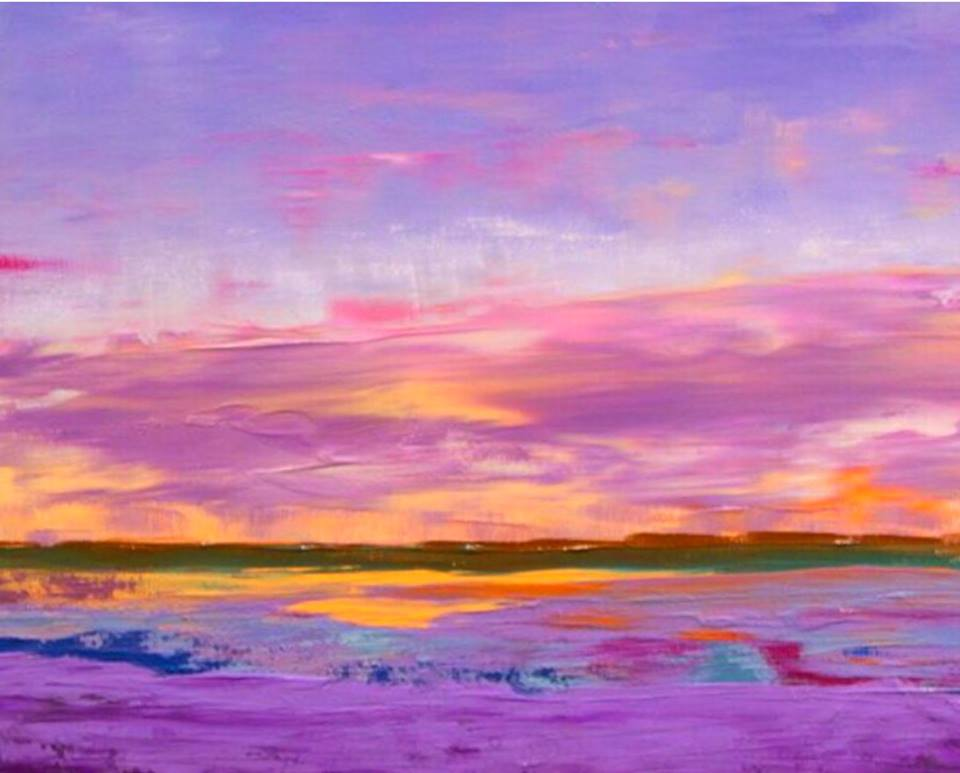 Lindy Wiese - Purple Sunset
