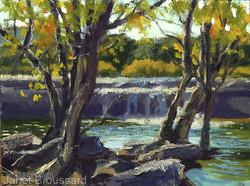 Janet Broussard - Bull Creek Falls