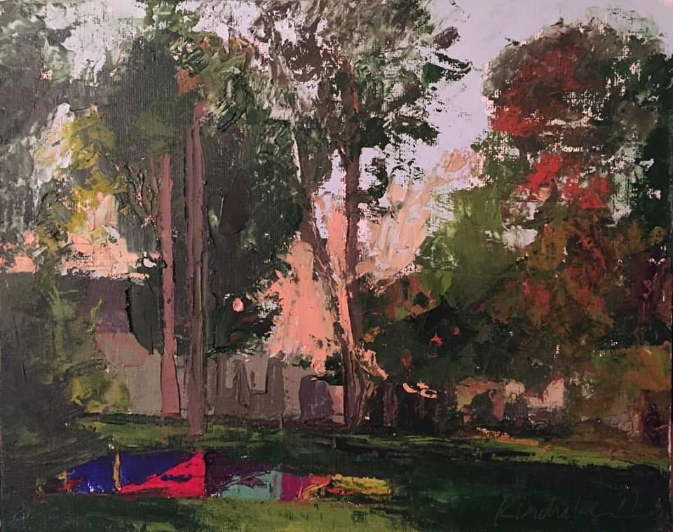Kayti Didriksen - Sunset Through the Trees