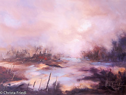 Christa Friedl - A New Day (oil)