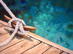 Alan Lakin - On the Dock