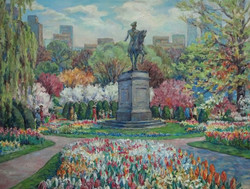 Irina A. Pisarenko - George Washington Monument in Boston Public Garden