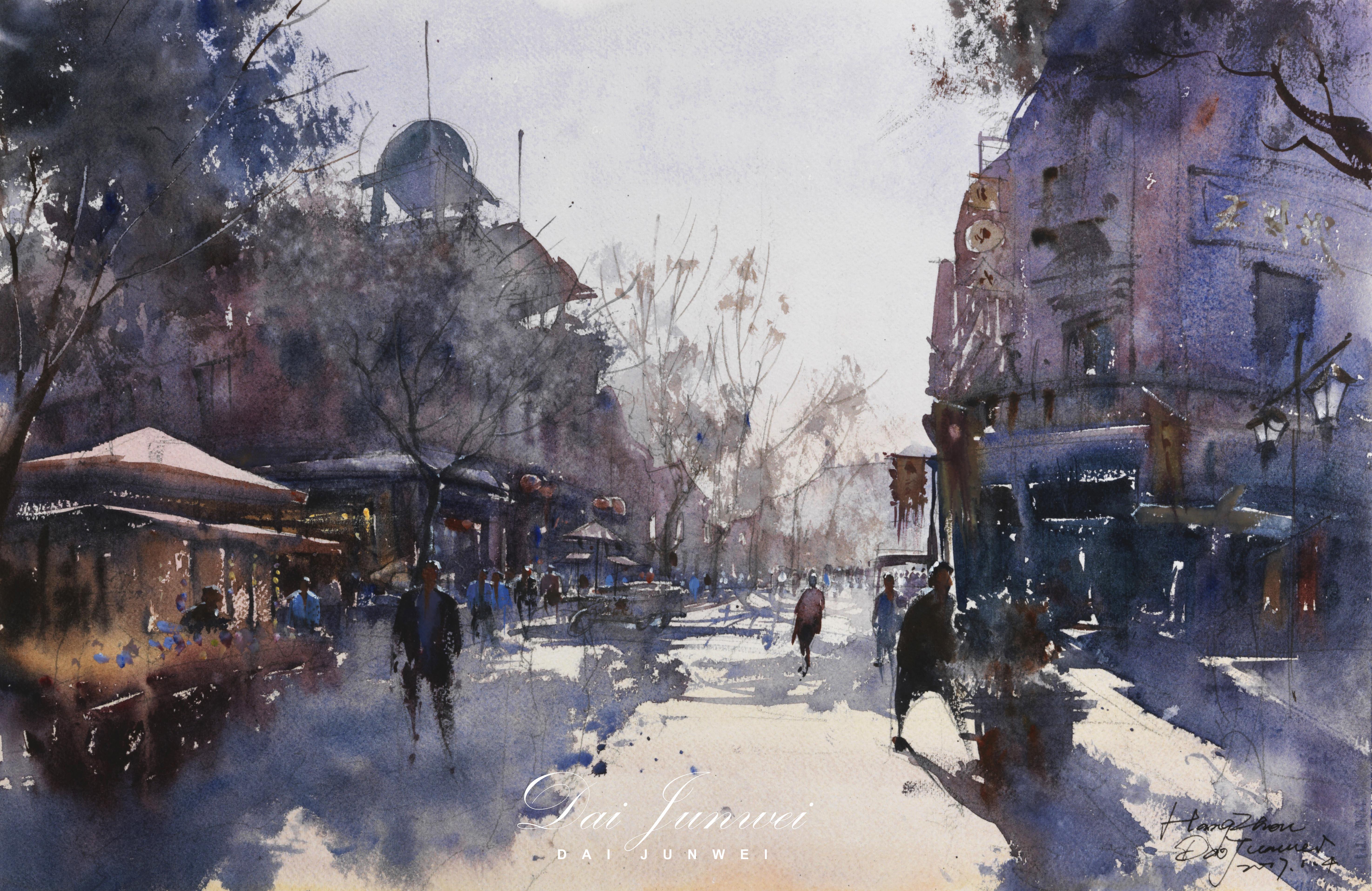 Junwei Dai - Morning on Nansong Street