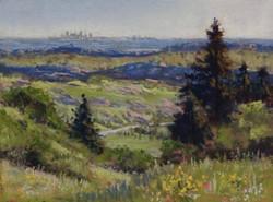 Clark Mitchell - Looking Toward Denver