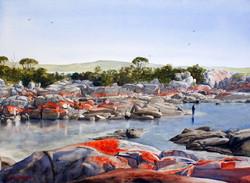 Joe Cartwright - Bay of Fires, Tasmania