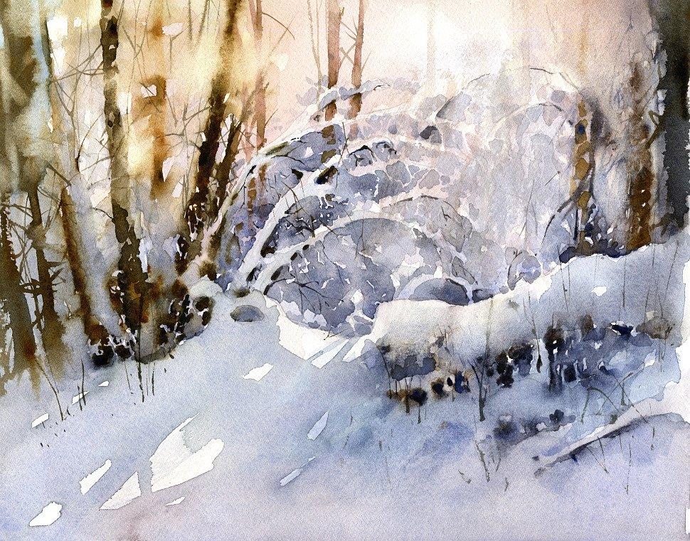 Vladimir Tuporshin - Forest Covered with Snow 2