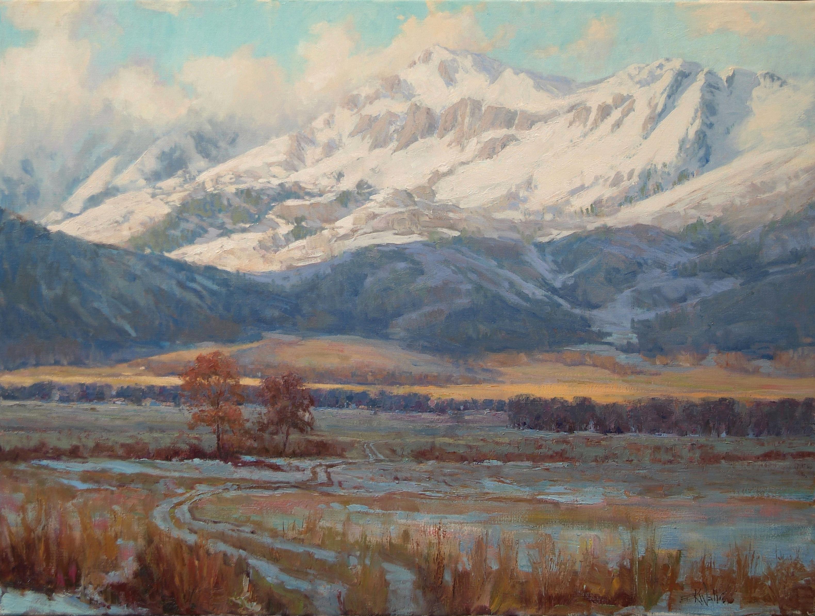 Eric Wallis - Sunlight on Mountain