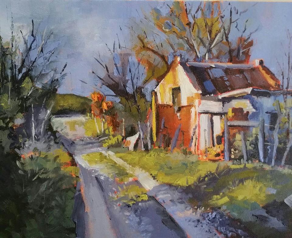 Erika Van Zyl - Old Cottage