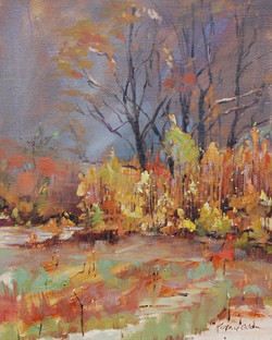 Kathie Odom - Yellow Saplings