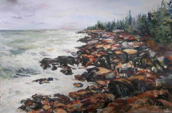 Alicia Drakiotes - Acadian Afternoon (pastel)