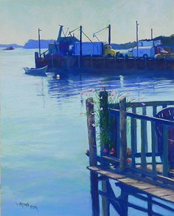 Jean Hirons - A Working Harbor