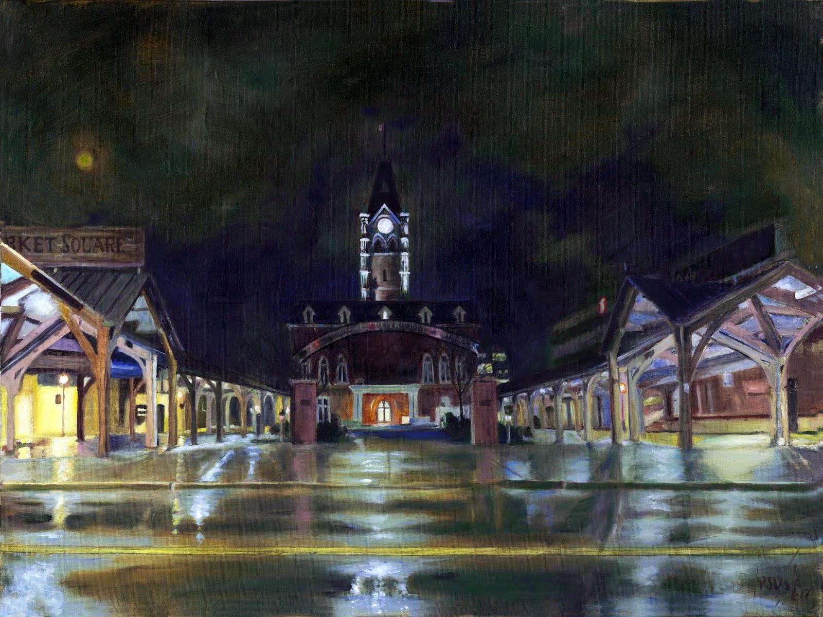 Jesus Estevez - Market Square, Belleville