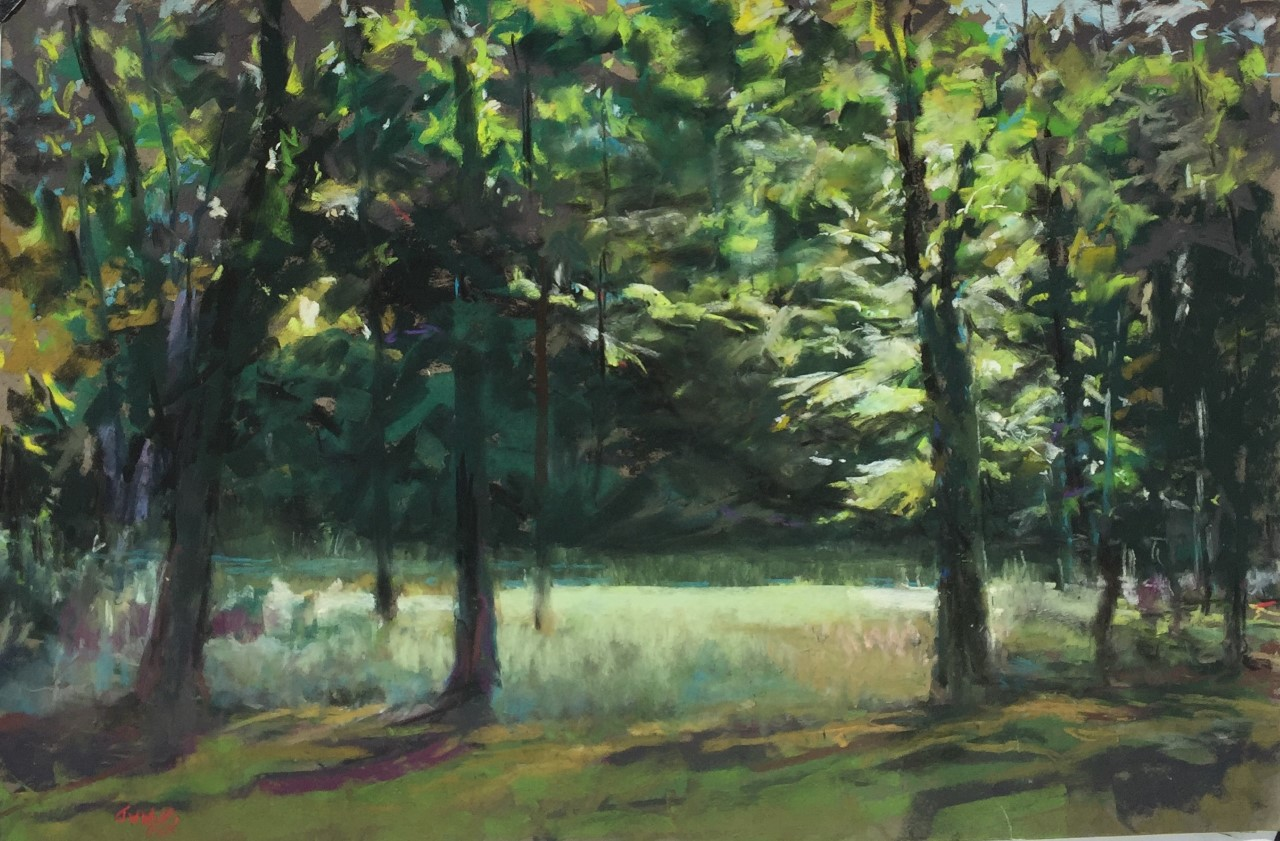 Jane Wright Wolf - Saugatuck River, Morning Light