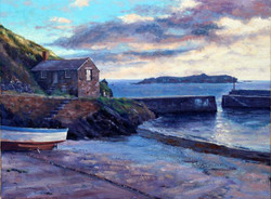 Andrew Barrowman - Summer Evening at Mullion Cove