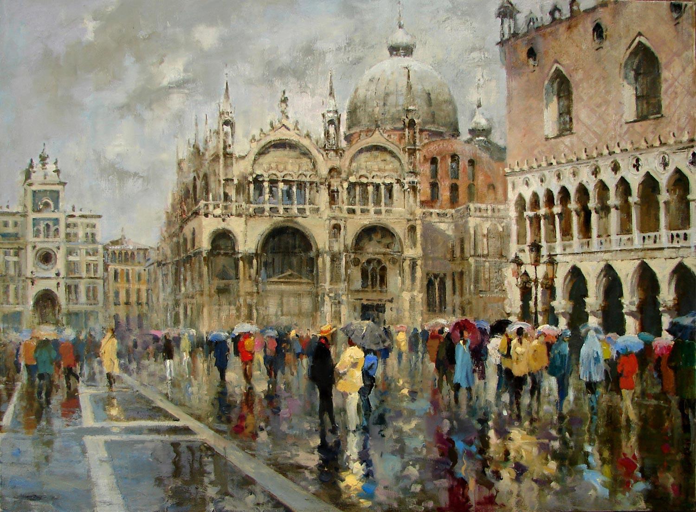 Azat Galimov - Umbrellas at San Marco