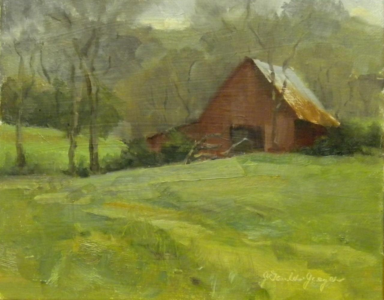 Jean Gauld-Jaeger - Leiper's Creek Barn