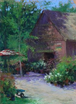 Lana Ballot - Peconic River Herb Farm, Garden Shop (plein air)