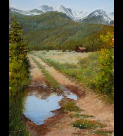 Mary M Giacomini - Rocky Mountain Reflections