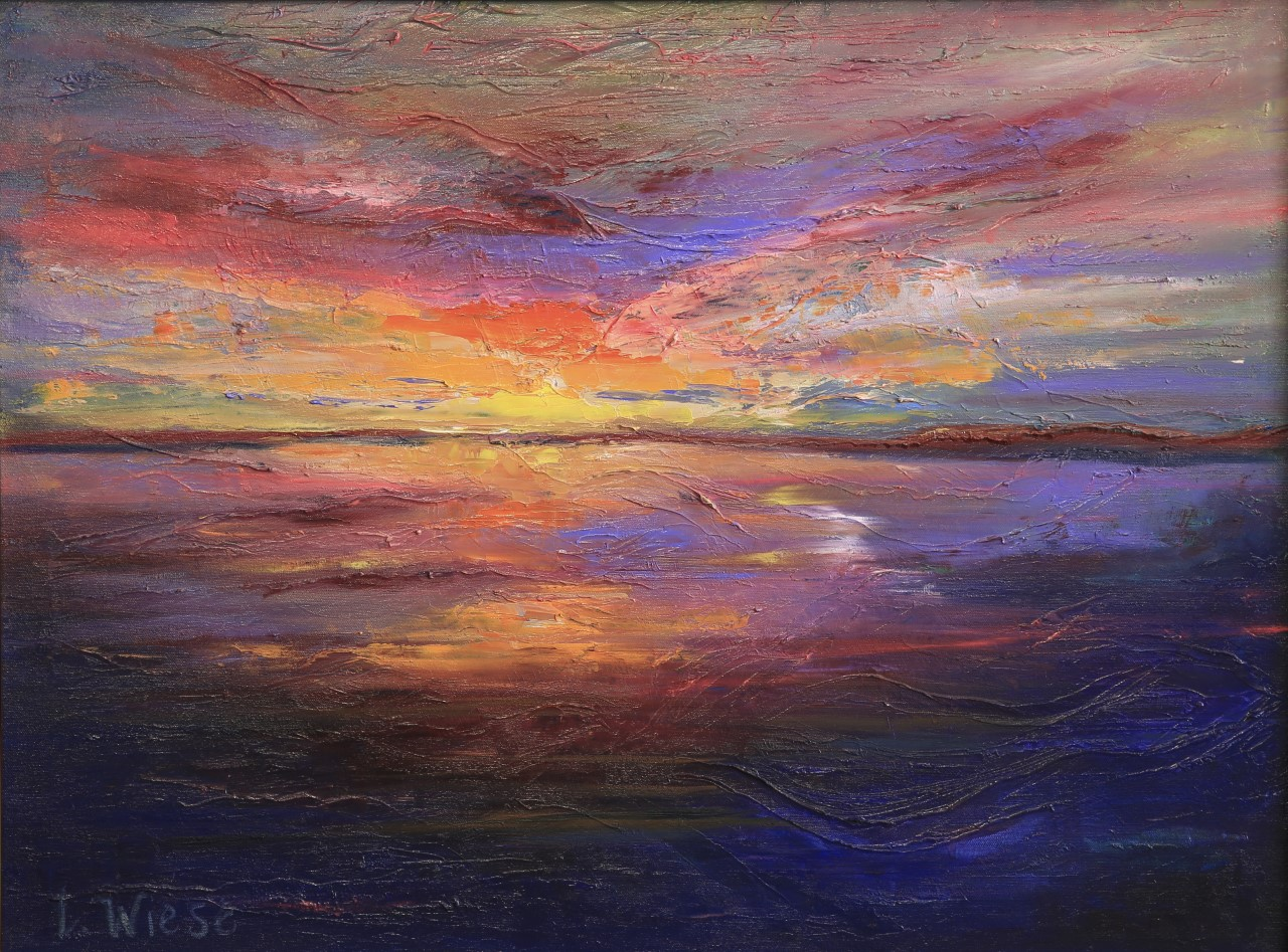 Lindy Wiese - Abstract Sunset