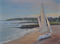 Karen Blackwood - Boats on Madison Beach