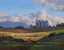 Roelof Rossouw - The Grain Silos, Overberg