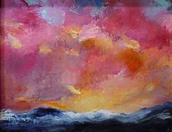 Karla Nolan - Smoldering Sunset